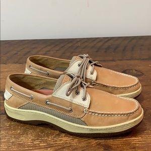 Sperry Topsider Billfish 3-Eye Boat Shoes  Sz 10.5